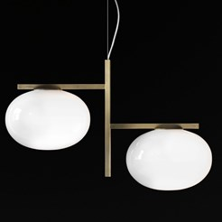 Alba Double Suspension Lamp